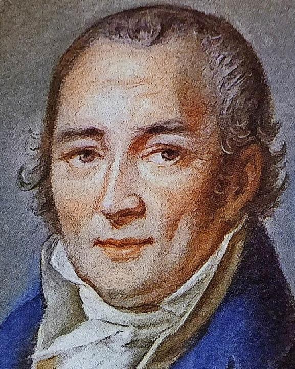 Johann Peter Hebel   | Foto: Repro: dw