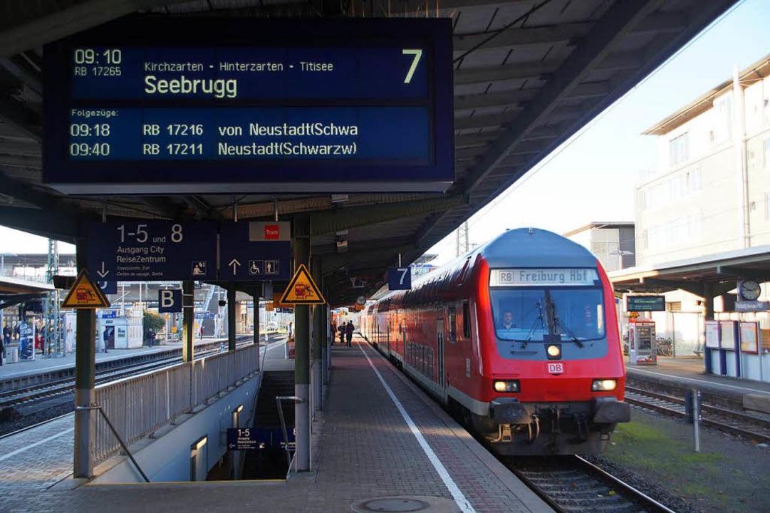 Ab März 2018 ist die Strecke Freiburg – Titisee – Seebrugg gesperrt.  | Foto: Sebastian Wolfrum