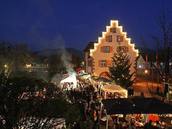 Weihnachtsmarkt Friesenheim