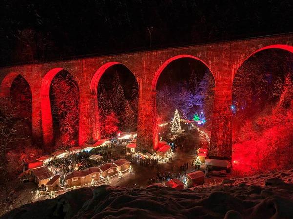 Weihnachtsmarkt in der Ravennaschlucht Breitnau