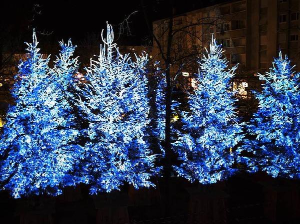 Blaue Weihnachten Guebwiller