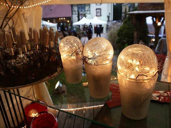 Weihnachtsmarkt auf der Dammenmühle, Lahr