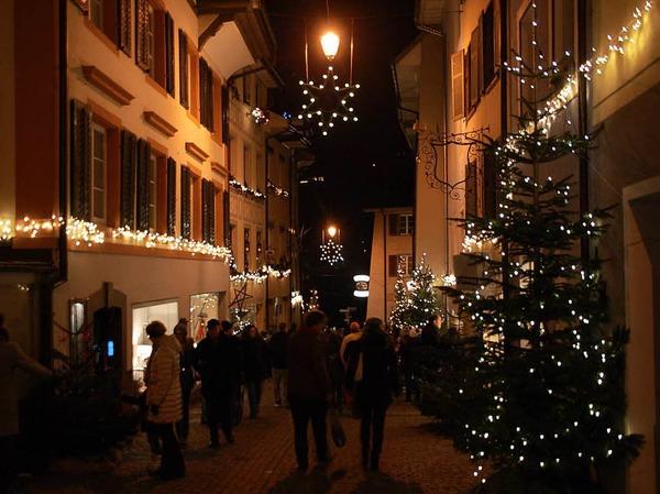 Grenzüberschreitende Altstadtweihnacht Laufenburg