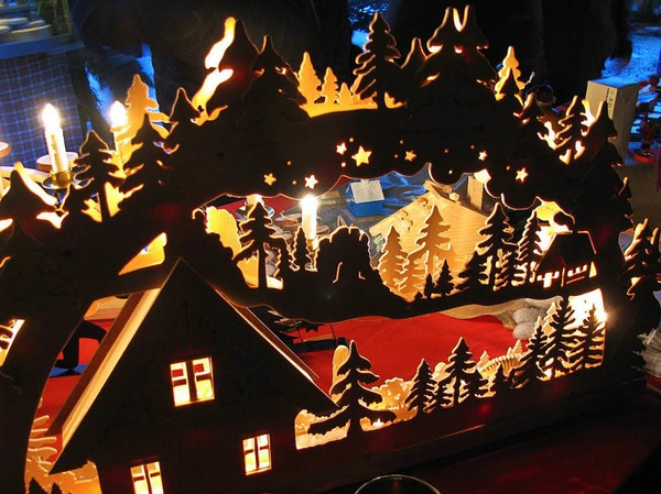 Schwarzwälder Weihnachtsmarkt Münstertal
