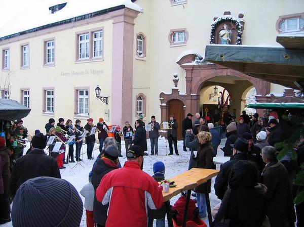 Weihnachtsmarkt St. Märgen