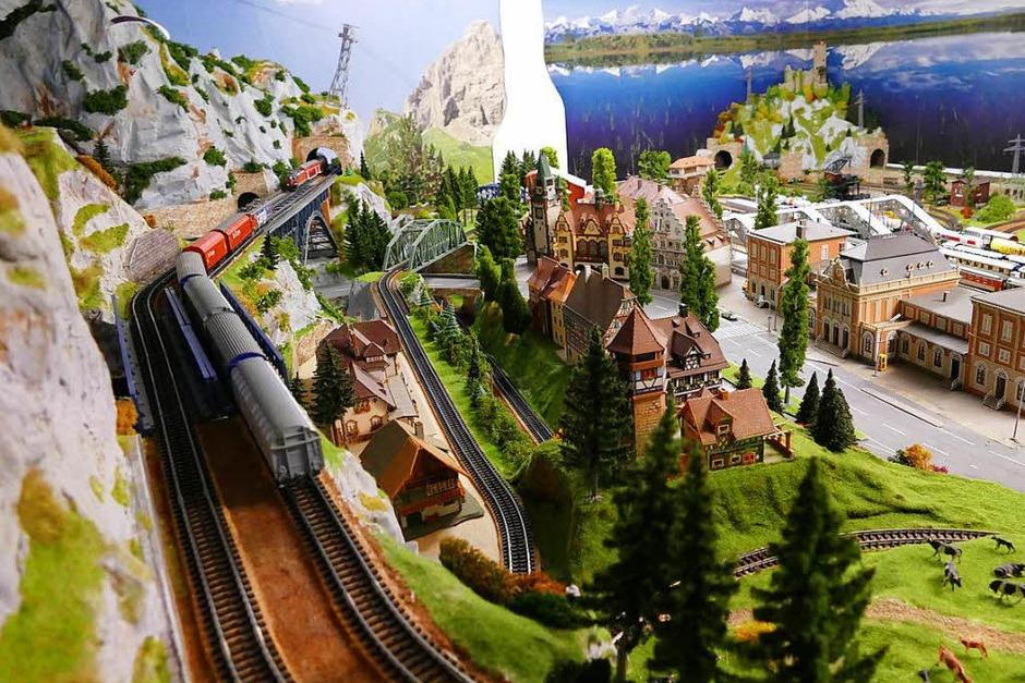 Die Modelleisenbahn von Winfried Frei (64), Buchenbach-Wagensteig (Foto: Markus Donner)