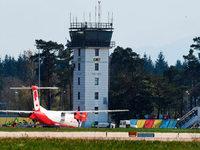 Unfall mit Kleinflugzeug im Baden-Airpark