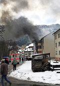 Vier Verletzte nach Wohnungsbrand