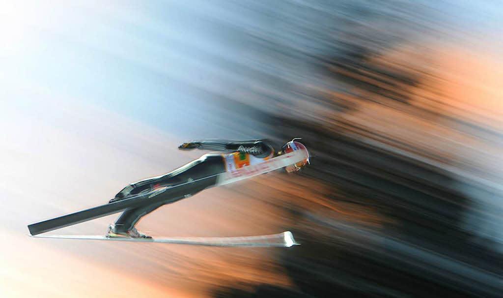 Skispringen: Deutscher Doppelsieg in Titisee-Neustadt