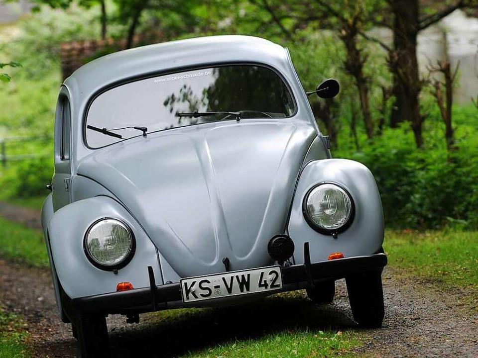 Bei diesem VW-Käfer  war Schummelsoftware noch kein Thema.  | Foto: dpa