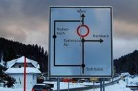 Erdrutsch: Straße zwischen Wehr und Todtmoos gesperrt