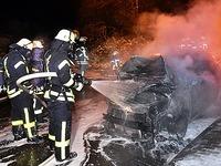 Brandserie in Mahlberg: Wer setzt all die Autos in Flammen?