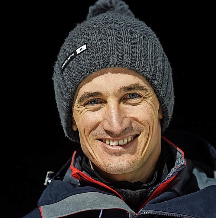 Der frühere Überflieger Martin Schmitt verfolgte den Wettkampf.    Foto: dpa