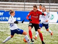 Erstliga-Fußballerinnen des SC Freiburg siegen gegen Jena