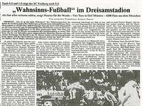 Schon vor 29 Jahren schaffte der SC Freiburg ein Fußball-Wunder