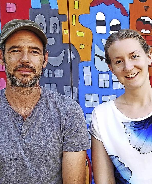 Lisa Häffner und Jan Funke teilen sich...einener Meret-Oppenheim-Schulzentrum.   | Foto: Hoppe/dpa/ZVG