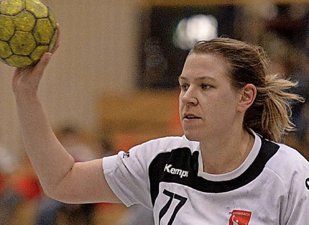 <BZ-FotoAnlauf>handball:</BZ-FotoAnlau... Gruber traf sechsmal für Brombach II.    Foto: pas