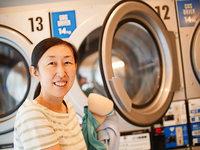 Ungewöhnlicher Waschsalon ist in Tokio zum Geheimtipp geworden