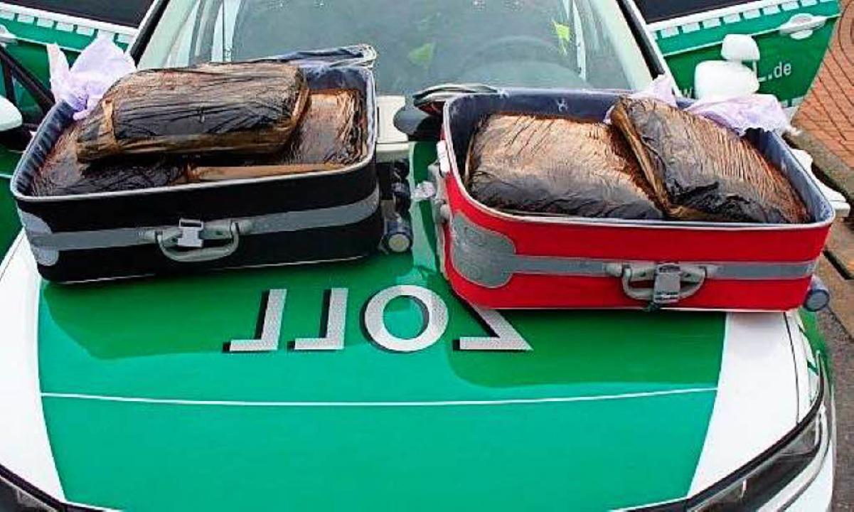 Der Drogenfund aus dem Fernreisebus  | Foto: Hauptzollamt Lörrach