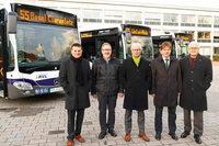 Neue Busse im Stadverkehr von Weil am Rhein können geortet werden
