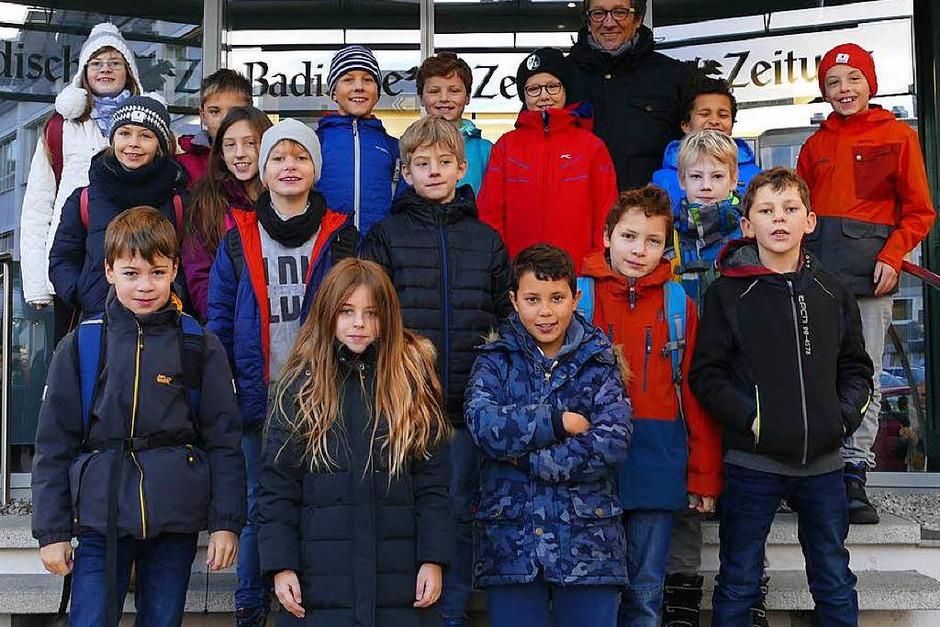 Klasse 4 der FT Sportgrundschule aus Freiburg (Foto: Paul Wortelkamp)