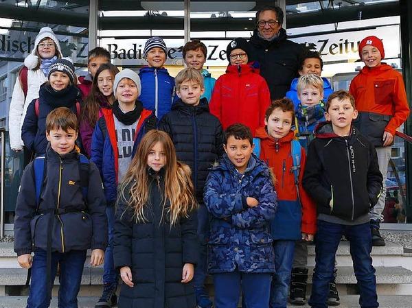 Klasse 4 der FT Sportgrundschule aus Freiburg