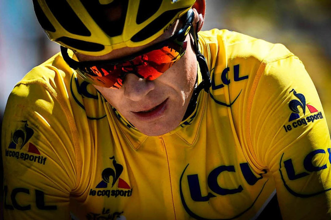 Christopher Froome bei der Tour de France 2016  | Foto: AFP