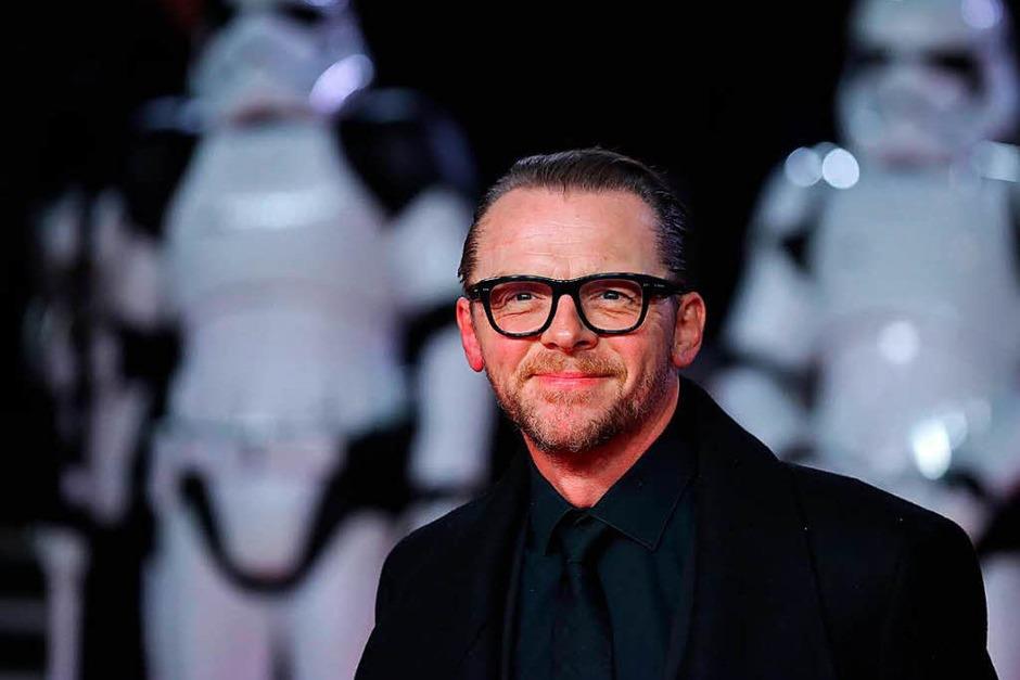Schauspieler Simon Pegg (Foto: AFP)