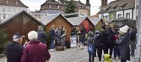 Straßenmusik zum Advent