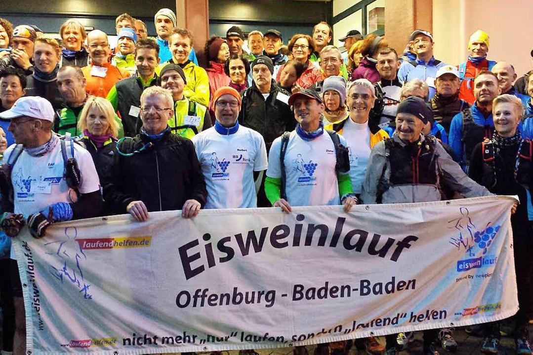 Bereits zum 16. Male – hier der ...n Offenburg nach Baden-Baden gelaufen.  | Foto: privat