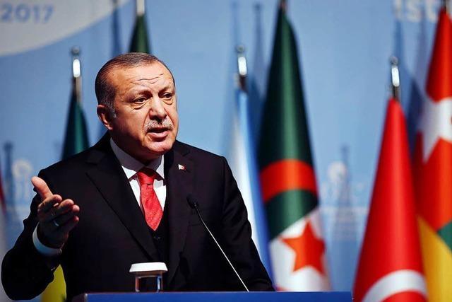 Jerusalem-Konflikt: Erdogan geht es nicht um konstruktive Pläne