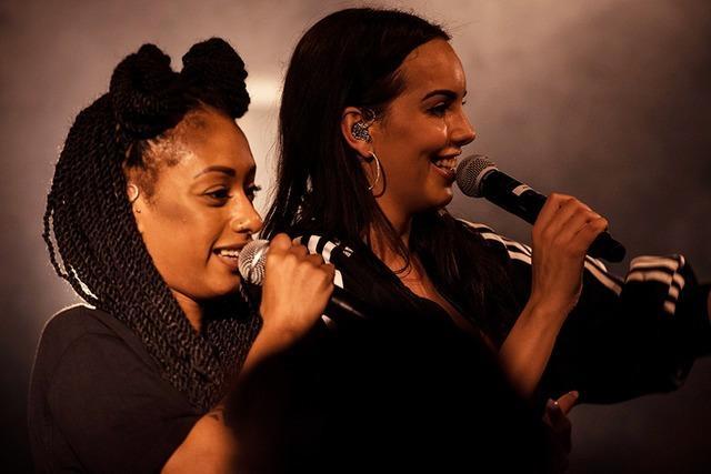 Fotos: Das Hip-Hop-Duo SXTN im Jazzhaus