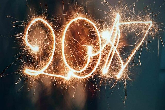 17 Dinge, die Du an den letzten 17 Tage im Jahr 2017 tun kannst
