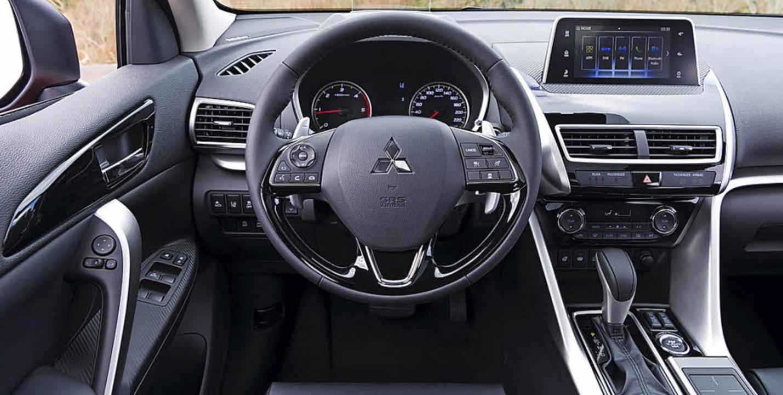 Schräges Heck und eine solide Innenaus...ng kennzeichnen den neuen Mitsubishi.   | Foto: werksfotos