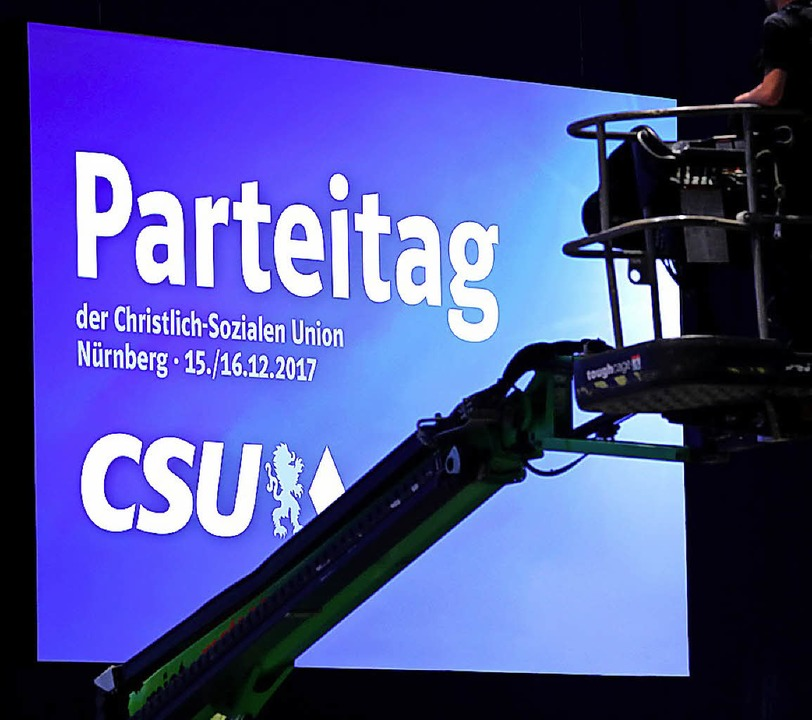 Umfrage: CSU und Grüne legen in Bayern zu