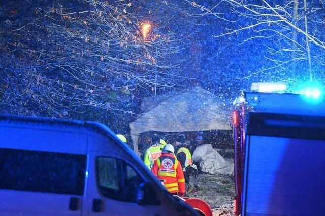 Drei Tote bei Flugzeugabsturz in der Nähe vom Bodensee