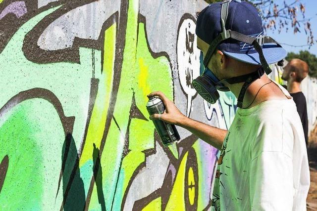 Höhere Rüstungsausgaben gegen Graffiti-Terror