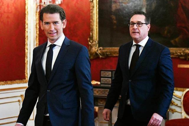 ÖVP-FPÖ-Bund in Österreich steht