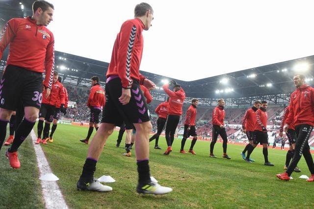 Liveticker zum Nachlesen: FC Augsburg – SC Freiburg 3:3
