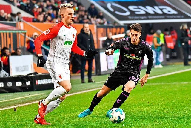 Bilder zum Spiel: Finnbogason verhindert Freiburger Sieg