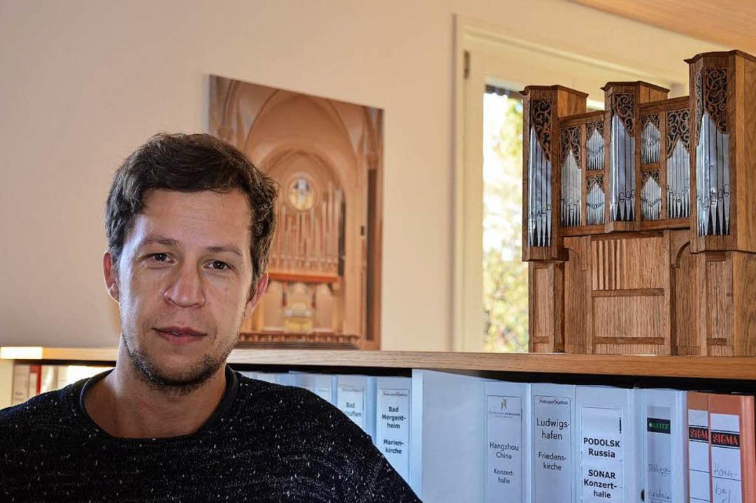 Den Orgelbau müsse man im Blut haben, ...en seinen Meister in der Tasche hatte.  | Foto: Gabriele Hennicke