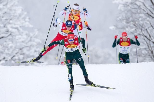 Schwarzwälder Fabian Rießle gewinnt Weltcup in Ramsau