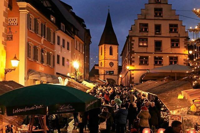 So schön ist der Weihnachtsmarkt in Endingen