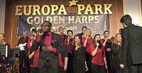 Die Golden Harps geben im Europa-Park Dome ein Konzert und davor einen Workshop
