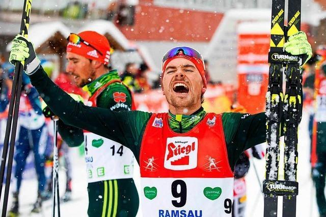 Der Schwarzwälder Fabian Rießle löst das Ticket für Südkorea 2018