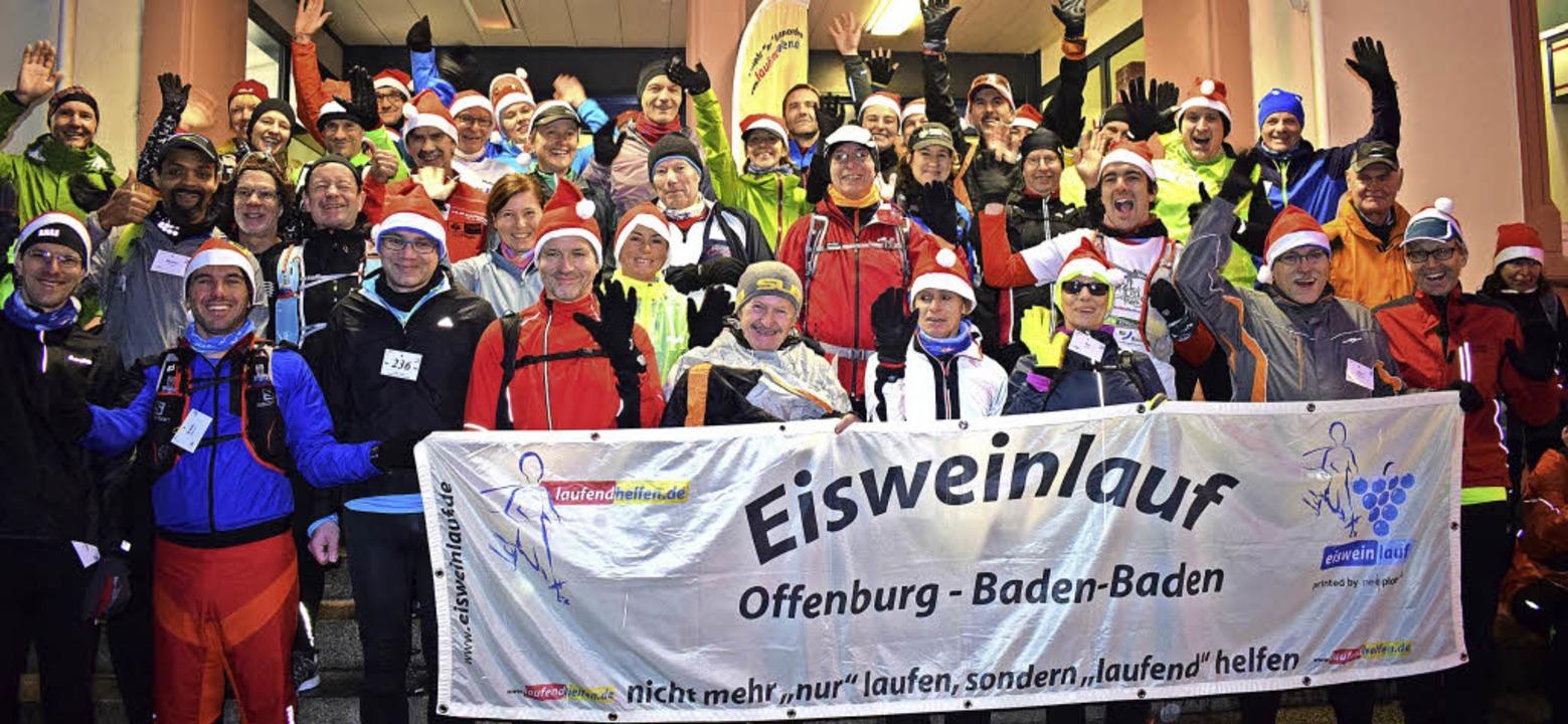 Am frühen Samstagmorgen wurde, bei Dun... beim Bahnhof in Offenburg gestartet.   | Foto: Julia trauden