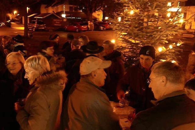 Die Dorfweihnacht in Kleinkems ist ein Weihnachtsmarkt in Miniatur