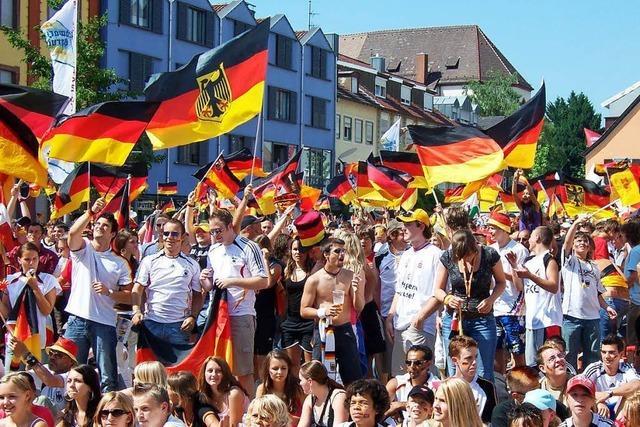 Zur WM gibt's wieder Public Viewing auf dem Marktplatz