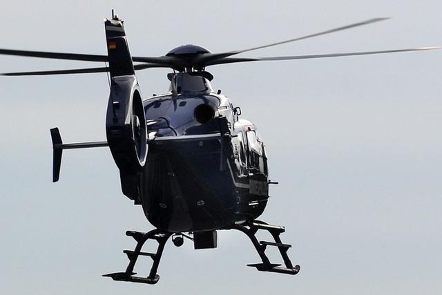 Hubschrauber stürzt am Stübenwasen ab