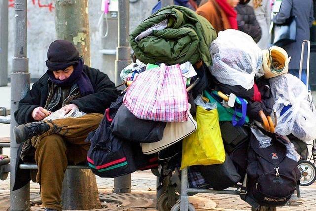 Richard Brox ist obdachlos – und setzt sich für andere Obdachlose ein